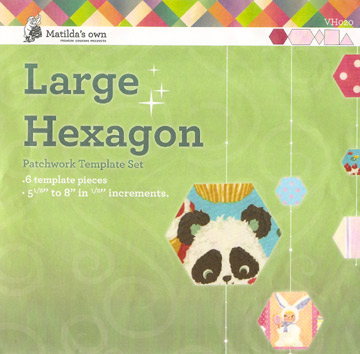 Templates - Hexagons - Just Patchwork