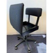 horn chair-basic black
