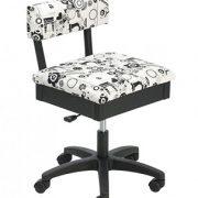 horn chair blackwhite