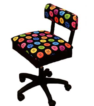 horn chair button