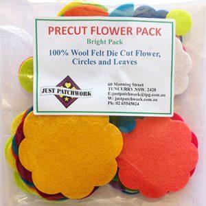precut flower bright web