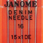 Janome Denim Needle 16 web