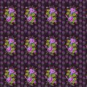 stitched bouquet-eggplant