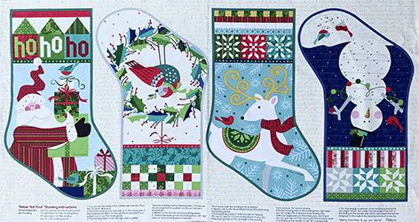 Christmas stocking panel1
